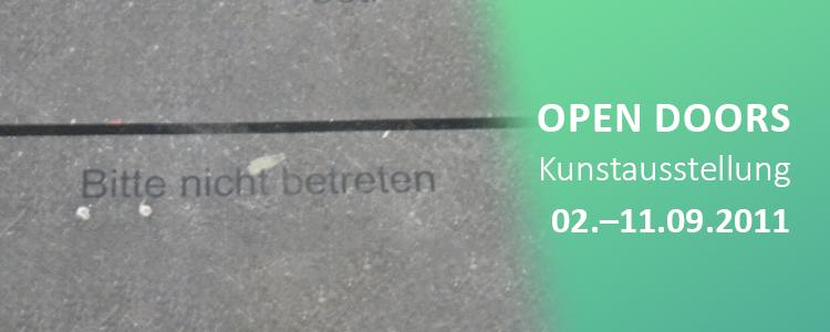Open Doors – Ein interaktives Kunstprojekt im Stadtraum Karlsruhe