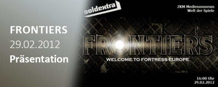 Frontiers Final Edition – ZKM / Welt der Spiele