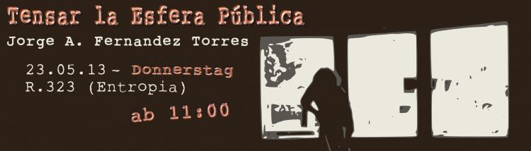 Tensar la Esfera Publica – TORRES