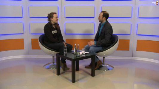 Interview bei Baden TV mit Greta Hoffmann